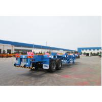 China Commercial Small Flatbed Trailer 35 Tons Port Yard Chassis For Container Transporting wholesale