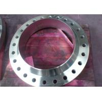 China PN20 - PN420 304 / 316 Forged Weld Neck Stainless Steel Pipe Flange WN RTJ Flanges wholesale