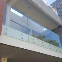 China Stainless Steel Standoff Frameless Glass Railing for Stair / Pool in the Philippines wholesale