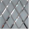 China Silver mirror Mirror Wall Decor glass can prettify the room wholesale
