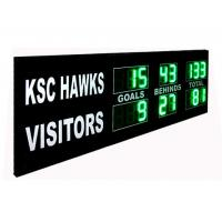 China Green Digit AFL Electronic Cricket Scoreboard Portable Football Scoreboard wholesale