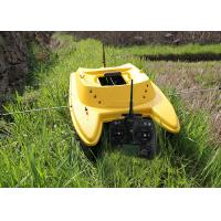 China Yellow catamaran rc remote control fishing boat DEVC-303M3 style radio control wholesale
