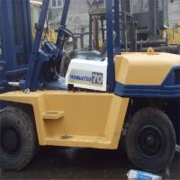 China Used komatsu 7 tons forklift for sale / Good quality used komatsu forklift in large stock on sale