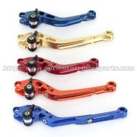 China CNC Milled Motorbike Brake Levers / Long Style Clutch And Brake Levers For Street Bikes wholesale