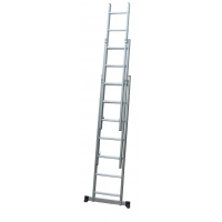 China A Frame 4.1m 21 Step Foldable Extension Ladder wholesale