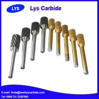 China Tungsten carbide burrs for wood, hard Alloy Metal Carbide Rotary File wholesale