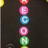 China Bright Circle Classroom Carpet Markers , Home Decor Velcro Carpet Spots wholesale