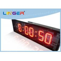 China IP65 Waterproof Led Countdown Clock Days Hours Minutes Seconds Iron Cabinet wholesale