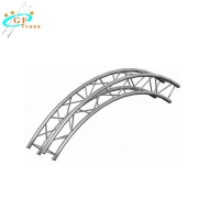 China 4m Aluminum Curved Roof Truss For Outdoor Indoor Performance wholesale