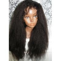 China 100% Real Brazilian Hair Lace Front Wigs , Virgin Front Lace Wigs For Black Women wholesale