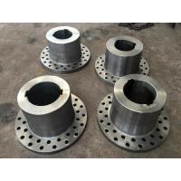 China AISI 1045 AISI 4140 AISI 4340 42CrMo4 Forged Forging Steel Sugar Mill Flange Couplings wholesale