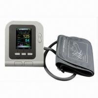 China Arm Blood Pressure Monitor with Oximeter, CE/RoHS/FDA Marks wholesale