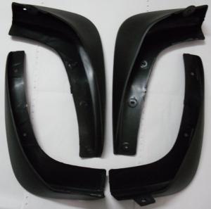 China Black Rubber Car Mud Flaps Automotive Accessory For Nissan Livina / Murano wholesale