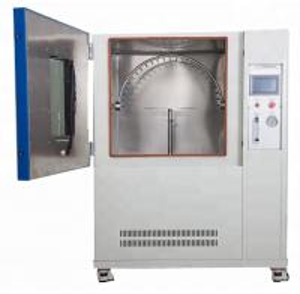 China Programmable IPX3 / IPX4 Rain Spray Chamber / Waterproof Oscillating Tube Spray Tester wholesale