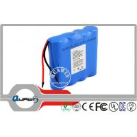 Quality High Energy 18650 Lithium Battery Packs , 1S4P OEM 3.7volt 10200mah Batteries for sale