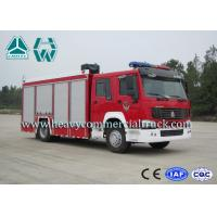 China 266Hp 4X2 Fire Fighting Vehicles / Fire Department Ladder Truck wholesale