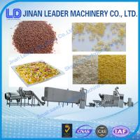 China automatic extruder Nutrition Rice Golden Rice food machine wholesale