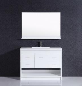 China Modern hotel design bathroom vanity cabinet on sale