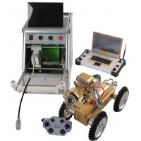 China High Definition Pipe Inspection Robot , Remote Control Robot With Video Camera wholesale