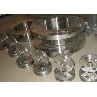 China ASTM A / SA182  WN / SW  Flanged Steel Pipe Fittings , Custom Stainless Steel Blind Flange wholesale