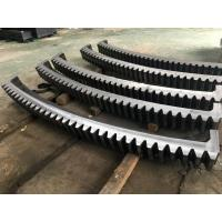 China AISI 4140(SAE 4140,42CrMo4,SCM440,1.7225)Forged Forging Steel mine Mining Shovel Twelve Segments Gear Rings Ring Gears wholesale