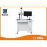 China Optical Fiber Laser Marking Machine Pulsed Laser For Plastic Bottle / Keyboard wholesale