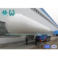 China Longlife Pressure Vessel LPG Semi Trailer Reliable Structure Anti - Corrosion Coating wholesale