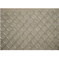 China 100x100mm 3mm 1.5m Chain Link Fences For Animals Breeding wholesale