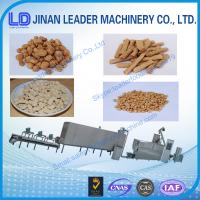 China Textured soya protein Vegetarian soya meat Soya nugget food Packaging Machine In China wholesale