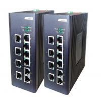 Buy cheap 8E + 2G fiber Network Switch , 8 100M TX ports + 2 100 / 1000M TX ports industrial Unmanaged switch from wholesalers