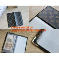 China A2/A3/A4/A5 plastisc display book with insert cover 20 pocket wholesale