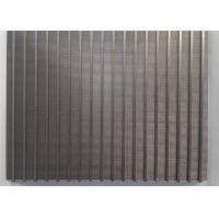 China Mini High Precision Wedge Wire Screen Panels 300mm X 200mm For Filtration Plants wholesale
