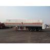 China Double Layered 56000L 3x13T FUWA alxe Cryogenic LNG Tank Semi - trailer wholesale