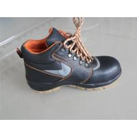 Quality China manufacturer leather safetywork boots factory safety shoes for sale