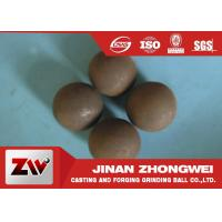 Quality Diameter 20mm forged and cast grinding steel balls for ball mill wholesale