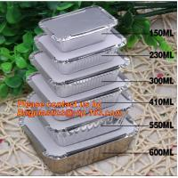 China Disposable Aluminium Foil Tray, Container for Food Packaging, foil lunch box, aluminum lunch box, foil bowl, deli tray wholesale