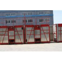China Painted / Hot Dipped Zinc Construction Hoist Rental 1000kg  - 3200kg wholesale