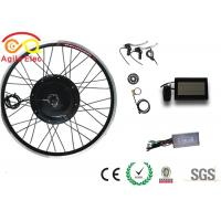 High Speed Electric Powered Bicycle Kit , Rear Hub Electric Bike Kit With LCD Display