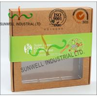 China Rigid Kraft Paper Cardboard Food Packaging Boxes With Art Paper Wraped Finished wholesale