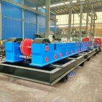 China Customize Metal Cable Support System / Solid Cable Tray Making Machine 20 Stations wholesale