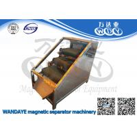 Quality Non Ferrous Metal Belt Conveyor Magnetic Separator / Iron Remover With 3 Layer wholesale