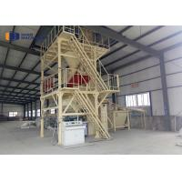 China Semi Automatic Dry Mortar Production Line For Wall / Floor Tile Adhesive Mortar wholesale