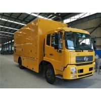 China 400 / 440V 300 kW Truck Mounted Generator Sets 6 Cylinder With 2 * 200AH Battery wholesale
