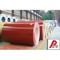 China CGCC , EN10169 Prepainted Galvanized Steel Coil / color coated steel coil for wall panel wholesale