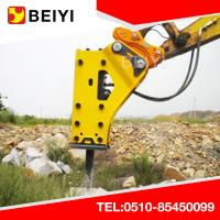 China BEIYI BYKL Excavator Hydraulic Tilting Coupler Quick Hitch exports wholesale