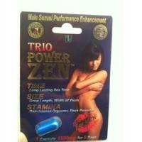 China Trio Power Zen Sex Capsules Natural Male Enhancement Pills / Sex Capsule For Long Time wholesale