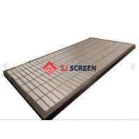 China Composite Shale Shaker Screen for Drilling Mud / Mongoose 585*1165 mm wholesale