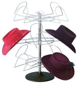3 Pockets Counter Hat Display