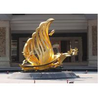 China Contemporary Decoration Bronze Bird Sculpture / Statue With 250cm Height wholesale
