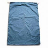 China 100% Cotton Laundry Bag with PP Drawstring and Logo Imprint, Measuring 70 x 100cm wholesale